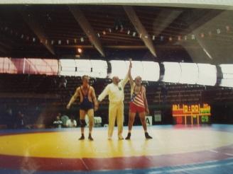 Wrestling Masters's World Champion, Age 60