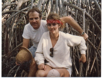 Doctor Ed and Daughter Lynne Lost in Paradise